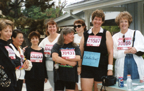 Revlon Run/Walk 1996 in Memory of Linda.