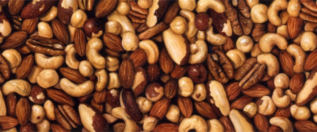 I just had to share one of my illustrations of mixed nuts. Sometimes, I feel I have so many challenges, that it makes me nuts!