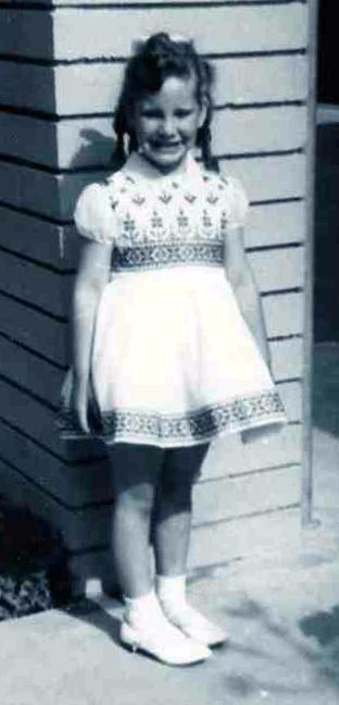 Little girl Judy