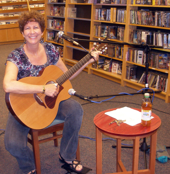 Performing at Border's Bookstore