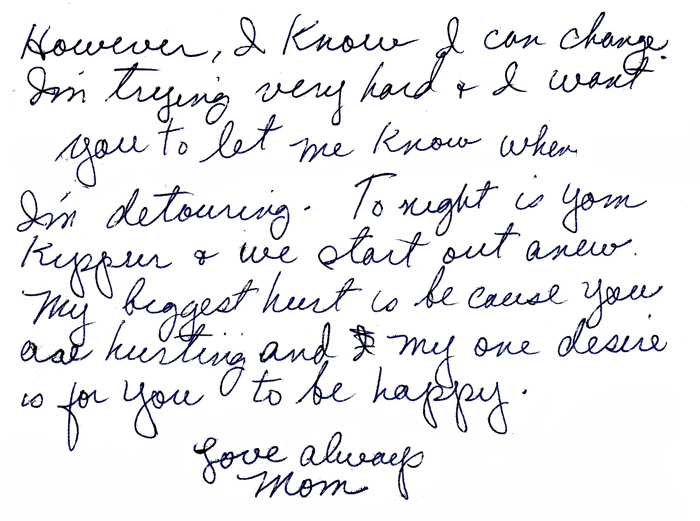 hurt letter to my boyfriend