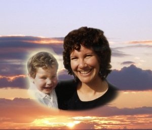 I created this image to go with one of my stories. Jason died in 1992 when he was five-years-old.