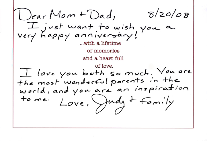 I always knew that i had you myjourneysinsight an anniversary card i gave my parents m4hsunfo