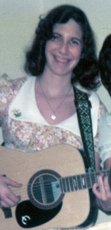 Judy & her Epiphone guitar