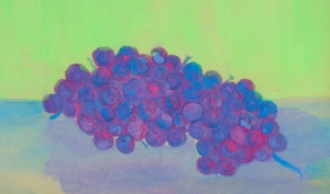 A painting of grapes I did at age 10.