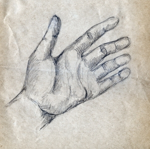 Hand sketch 2
