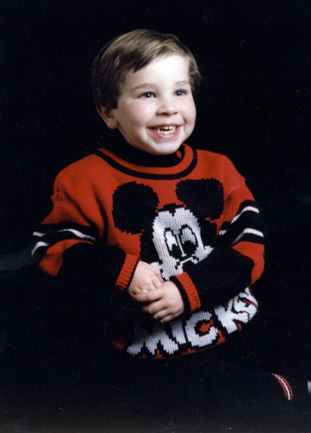 Jason Micky Mouse sweater