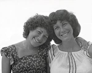 Judy & Cheryl B&W