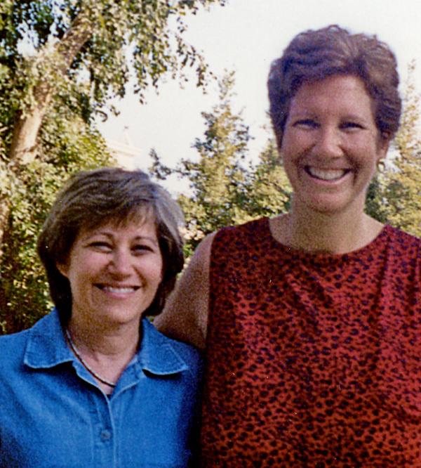 Judy & Cheryl in '02