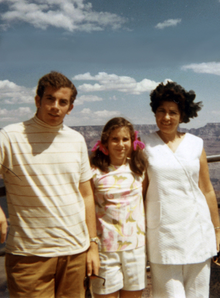I love old pictures. I was about 9 years old in this photo with my mother and brother, Norm.