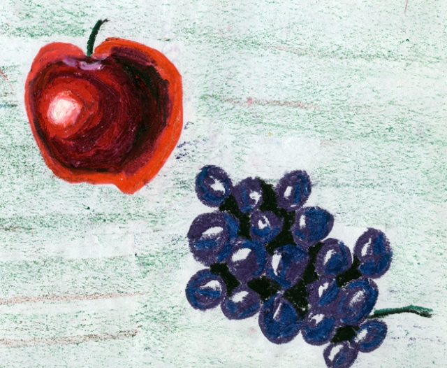 I was illustrating fruit when I was seven.