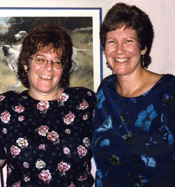 It turns out that this picture I have with Jeanne was the last time I saw her.This was taken at my fortieth birthday party, which was 13 years ago.