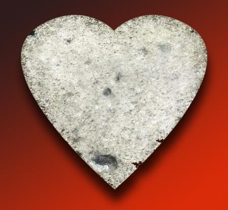 Heart like stone