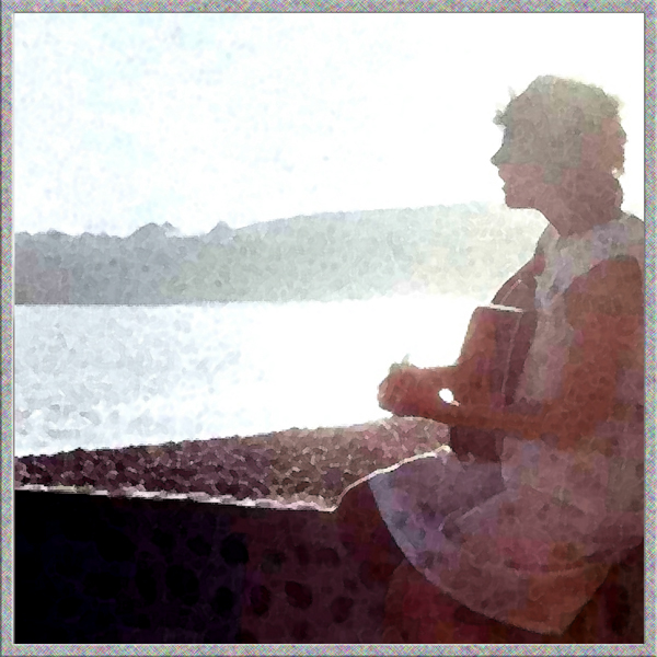 This picture was taken while I was on my honeymoon in Mexico. Not long after I was married, I stopped playing my guitar.