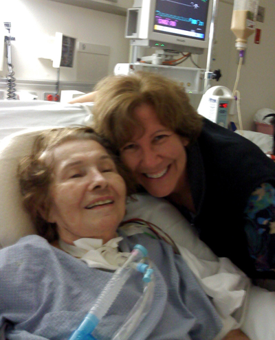 Mom with Trach