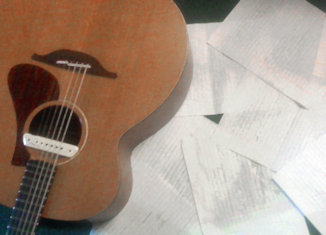 Guitar and lyrics 2