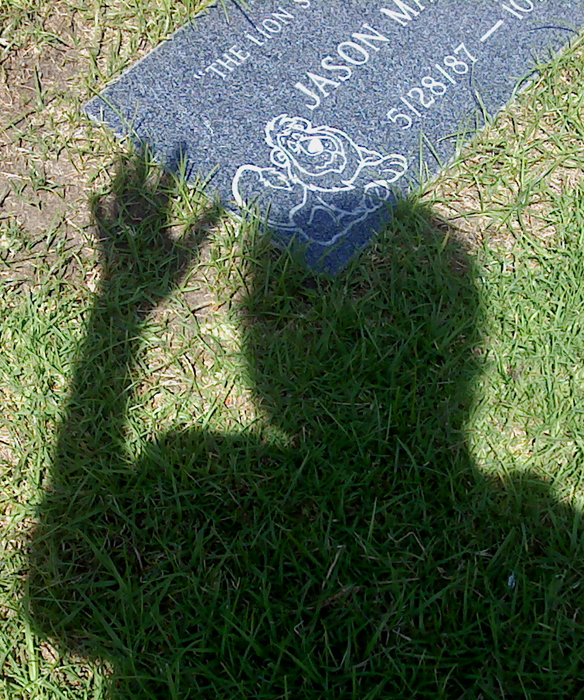 Jason's grave and shadow 2