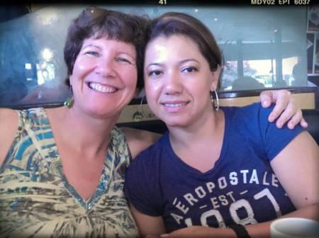 Judy & Miriam in August