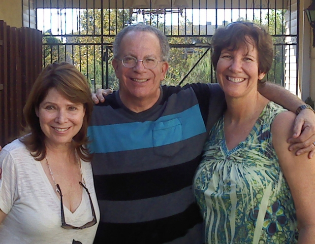 My oldest brother, Norm and sister-in-law, Jo are with me. Next week, it will be exactly one year since I moved out. This picture was taken that day.