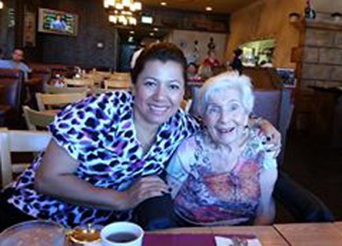 Miriam & Shirley