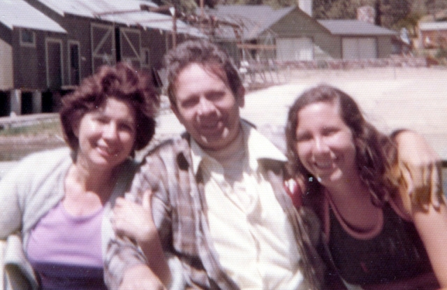 My parents with me long ago