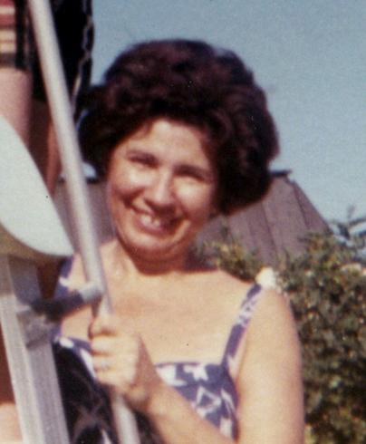 Pool Slide & mom