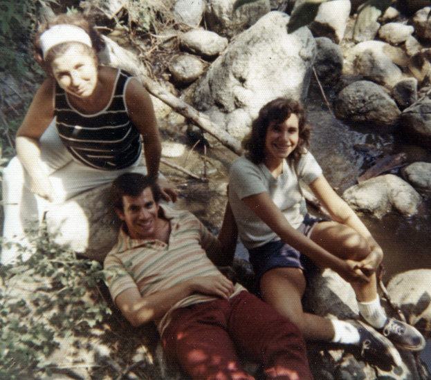 I have many happy memories of vacations. In this picture, I am with my mother and older brother, Norm.