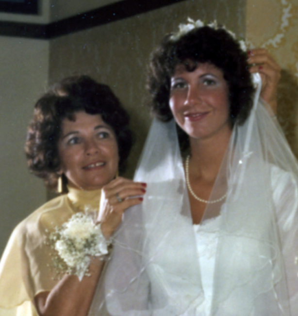 I even have memories of shopping with my mother for my wedding dress in 1981.