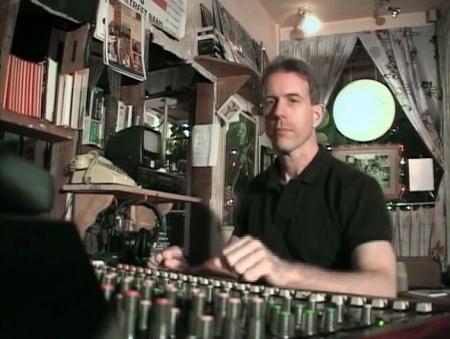 Paul Kulak at the controls