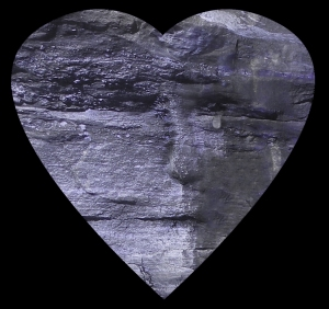 Heart Like Stone in Blue