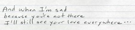 I'll still see your love