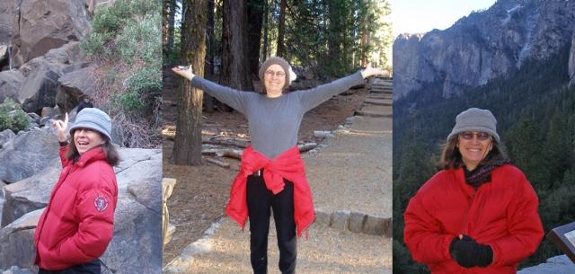 Joni in Yosemite