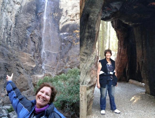 Judy in Yosemite