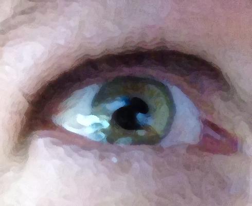 Sad eye