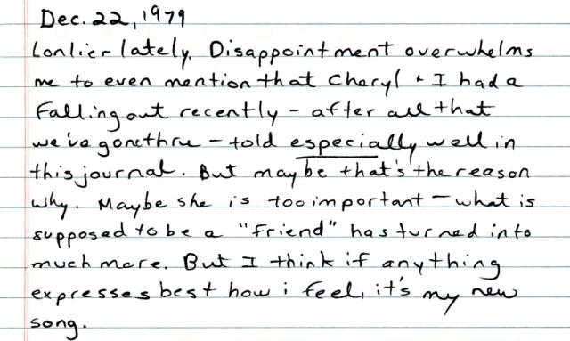 Diary Cheryl 12