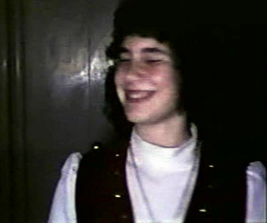A picture from my younger days – I was about 13 years old in this one.