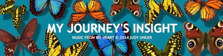 "I eventually picked the name ""My Journey's Insight."" I used to change the header illustration almost daily, but eventually decided to stick with one of my favorite butterfly illustrations."