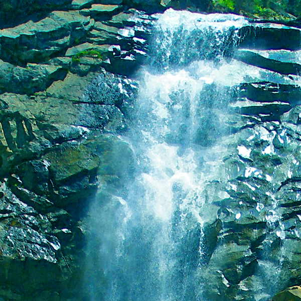 Cool waterfall