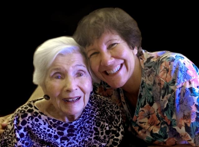 Judy & her mom