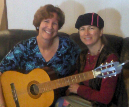 Joni is my friend who encouraged me to play my guitar again at the age of 50. Music changed the course of my life.
