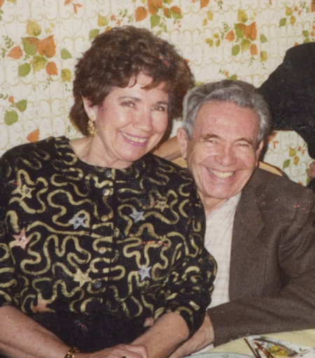 It has been hard to remember my parents this happy because they suffered so much at the end of their lives.