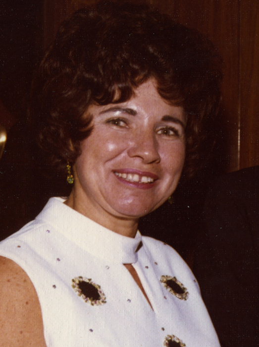 A picture of my mother from a long time ago