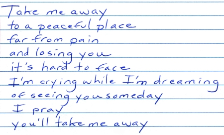 Take Me Away lyrics