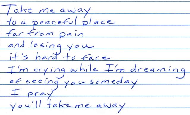 Take Me Away lyrics