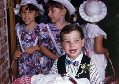 Jason as ring bearer
