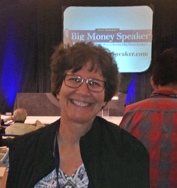 Judy at workshop 2