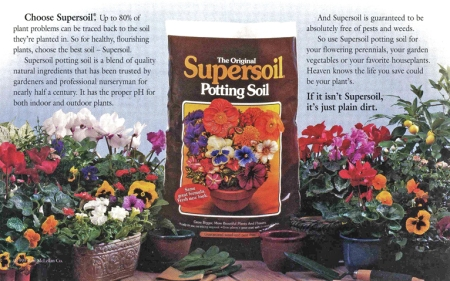 Potting soil ad