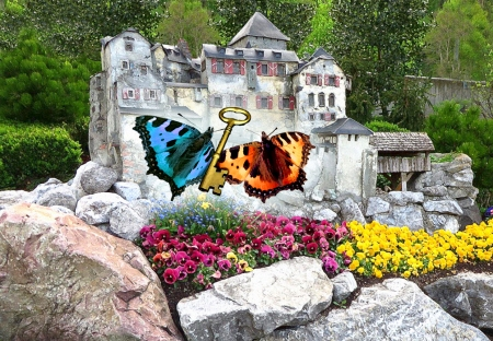 Butterfly to Castle