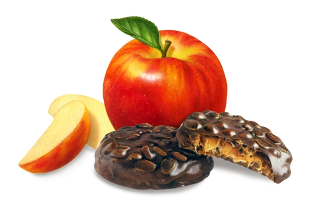 Which one would you rather have? Seriously, I am choosing the apple because I have made a commitment to get healthy!