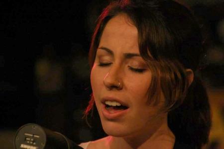 Daugher singing